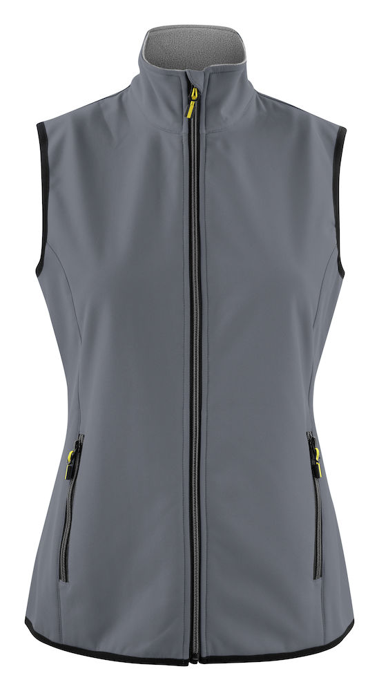 2261060 Softshell Vest Trial Lady 935 Staalgrijs