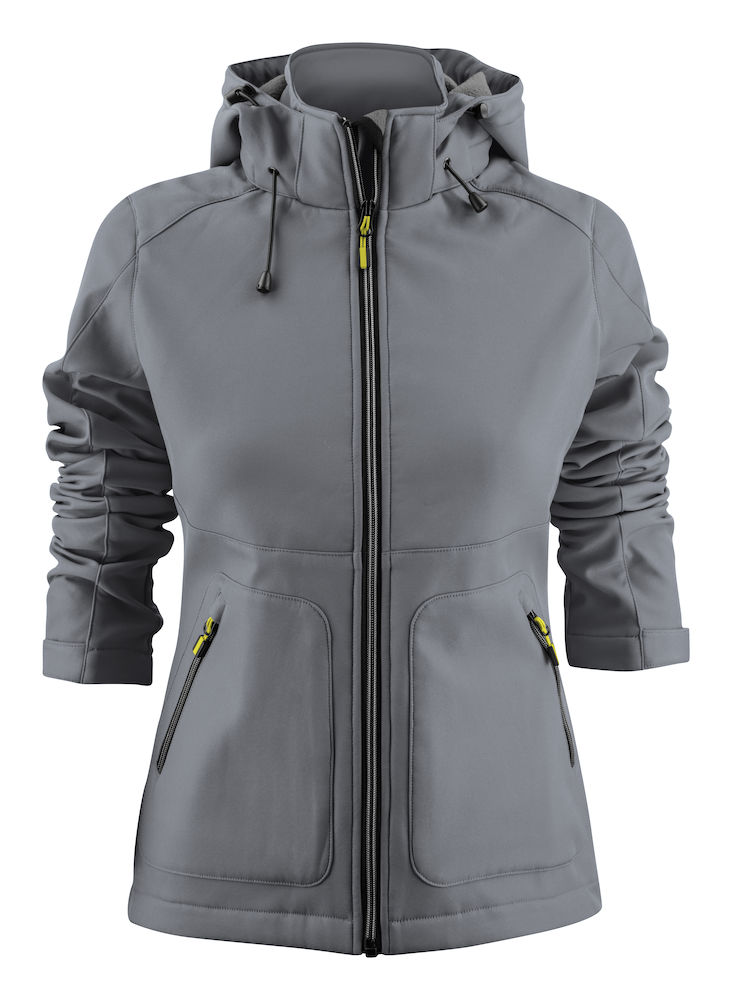 2261062 Softshell KARTING LADY 935 Staalgrijs