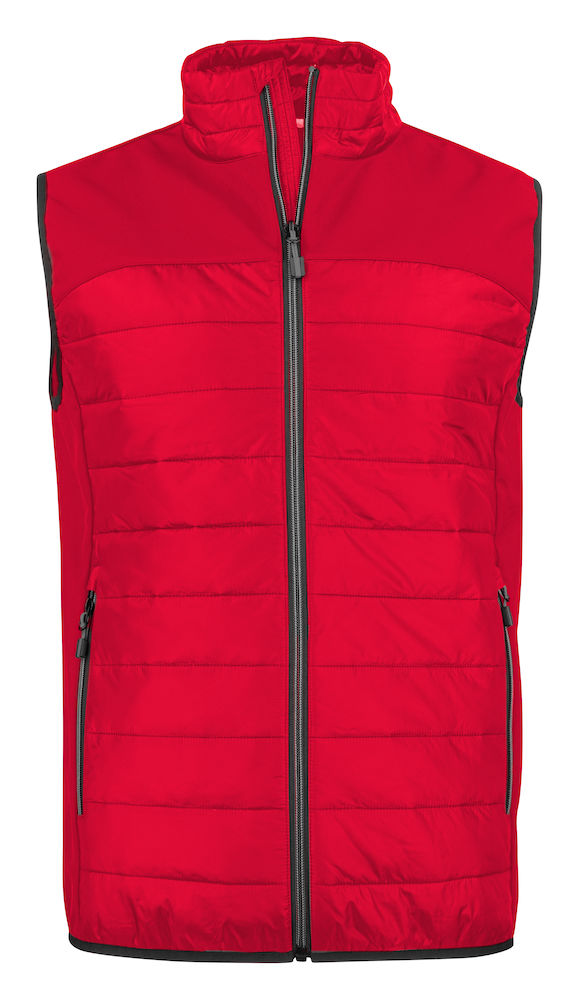 2261063 quilted vest EXPEDITION 400 Rood