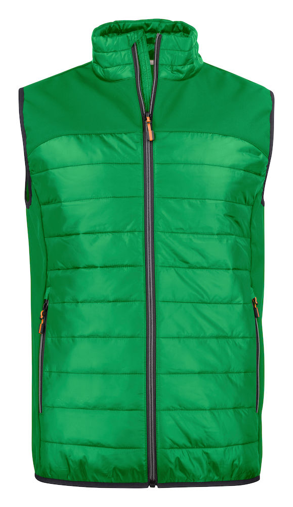 2261063 quilted vest EXPEDITION 728 Frisgroen