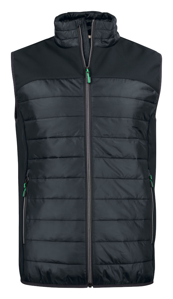 2261063 quilted vest EXPEDITION 900 zwart