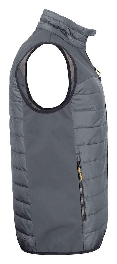 2261063 quilted vest EXPEDITION 935 staalgrijs