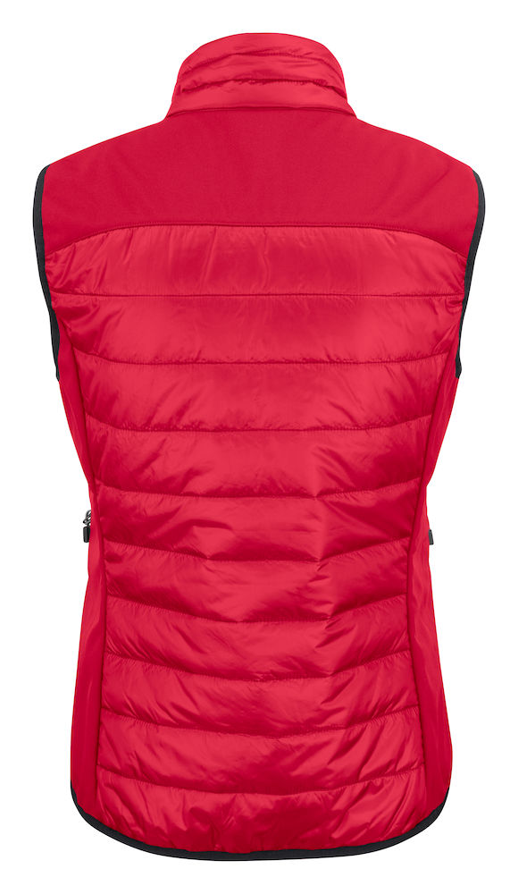 2261064 quilted vest EXPEDITION LADY-400 Rood