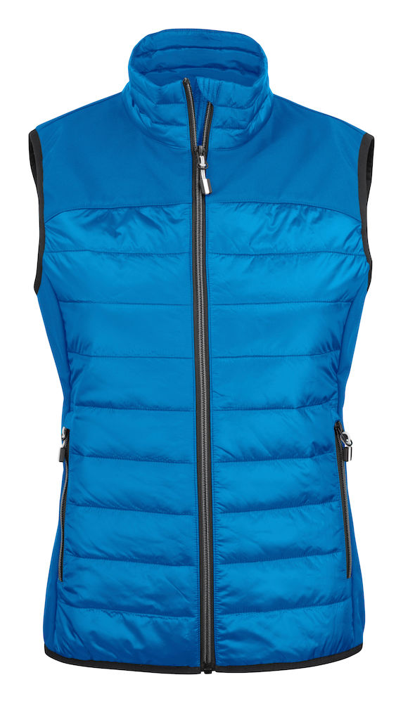 2261064 quilted vest EXPEDITION LADY-632 oceaanblauw