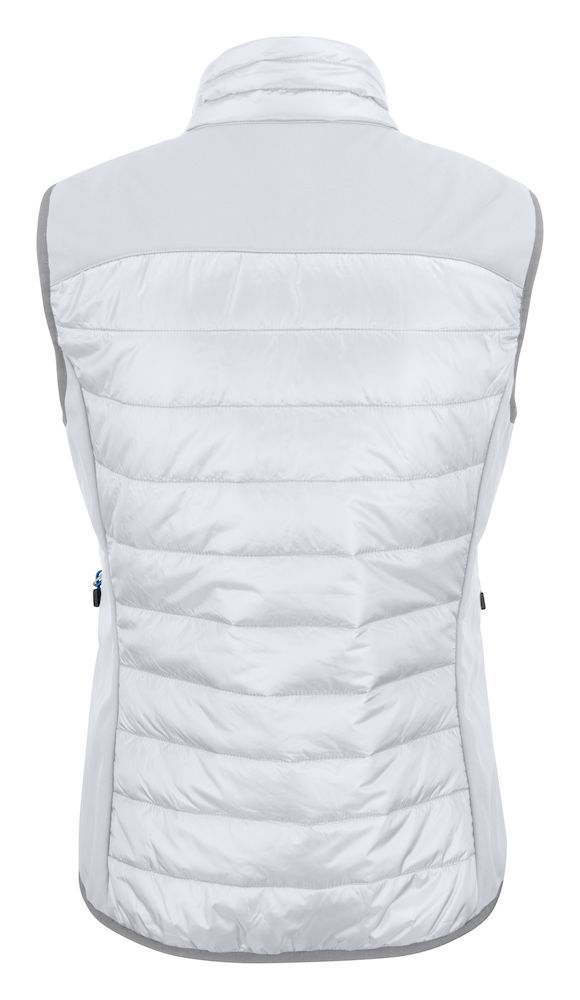 2261064 quilted vest EXPEDITION LADY-100 wit