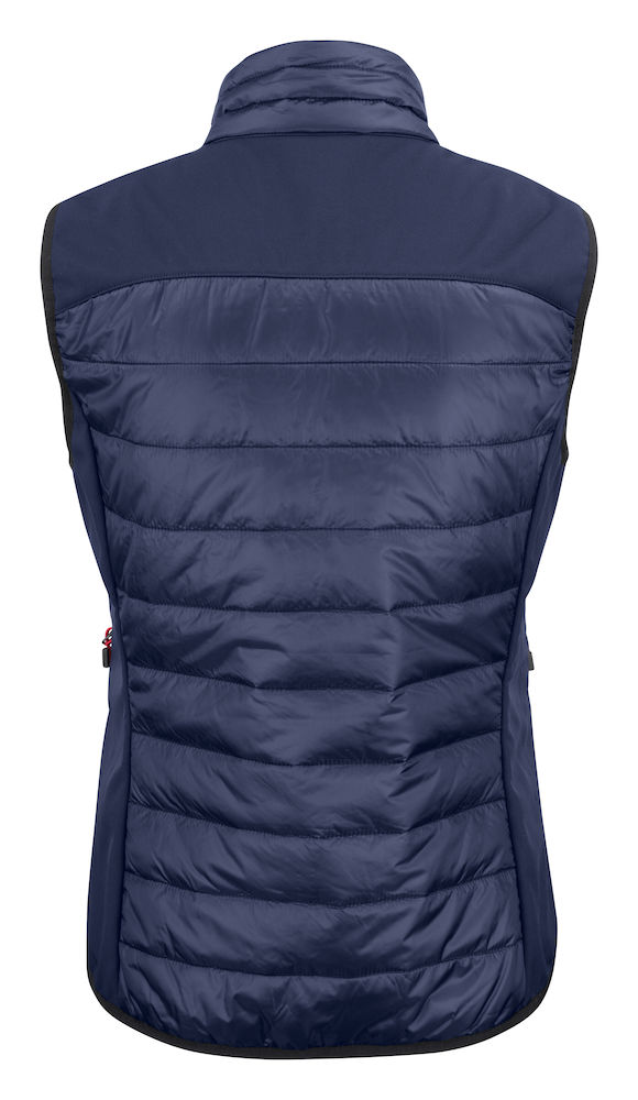2261064 quilted vest EXPEDITION LADY-600 marine