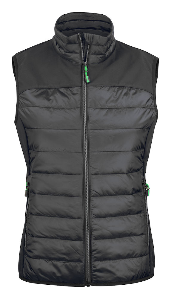2261064 quilted vest EXPEDITION LADY-900 zwart