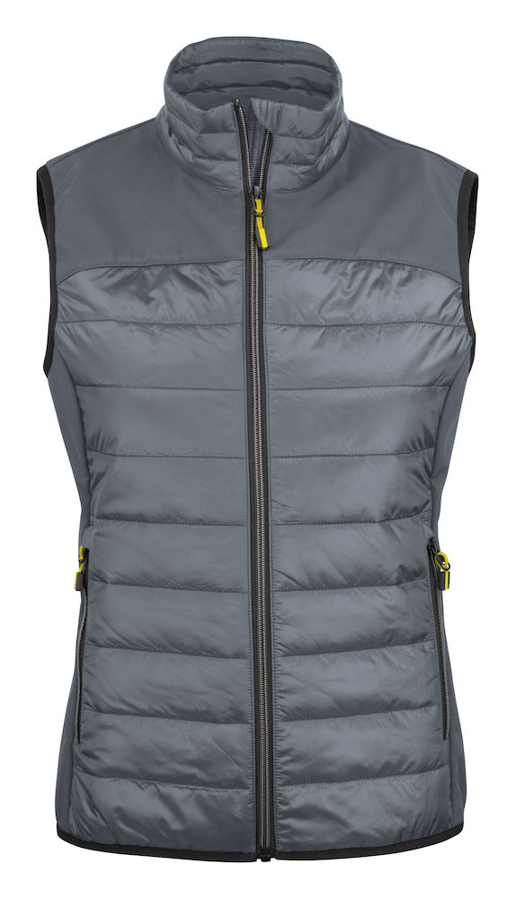 2261064 quilted vest EXPEDITION LADY-935 staalgrijs
