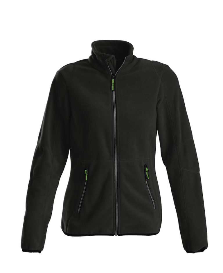 2261501 Fleece Jacket SPEEDWAY LADY 900 zwart