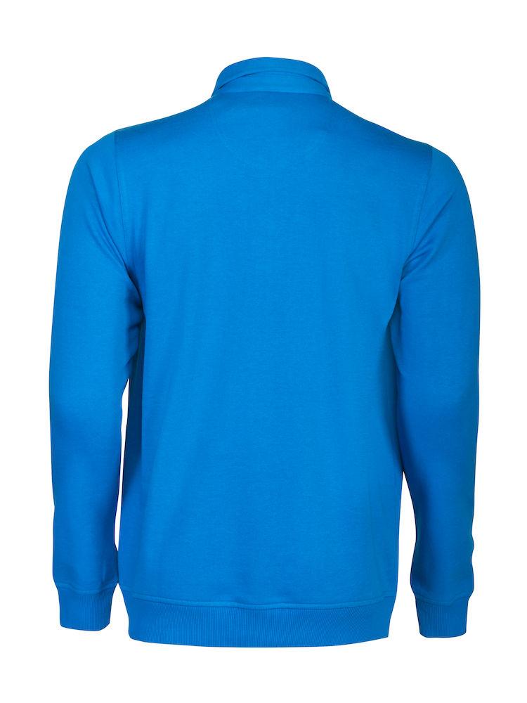 2262040 Poloneck sweater HOMERUN 632 oceaanblauw