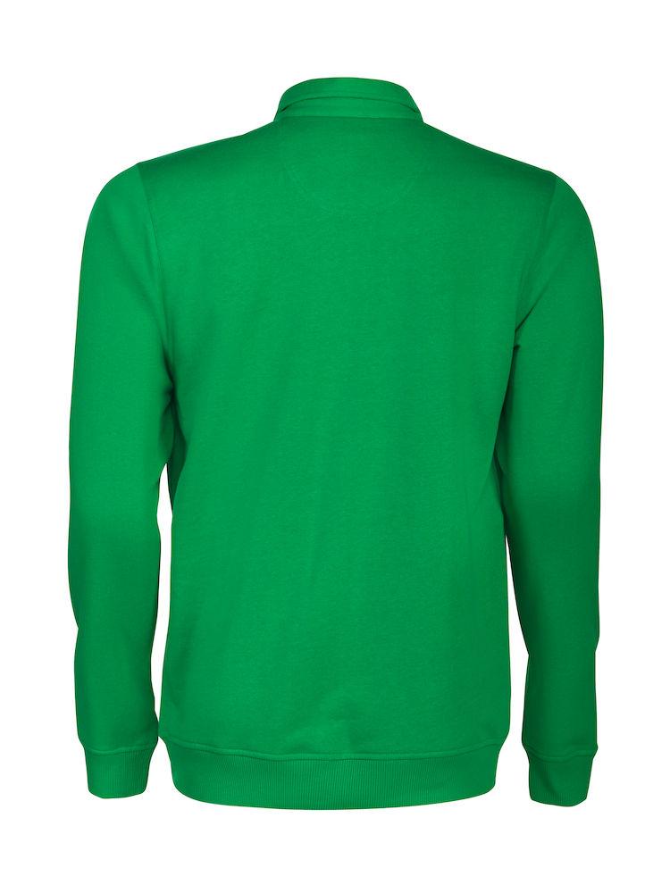 2262040 Poloneck sweater HOMERUN 728 frisgroen