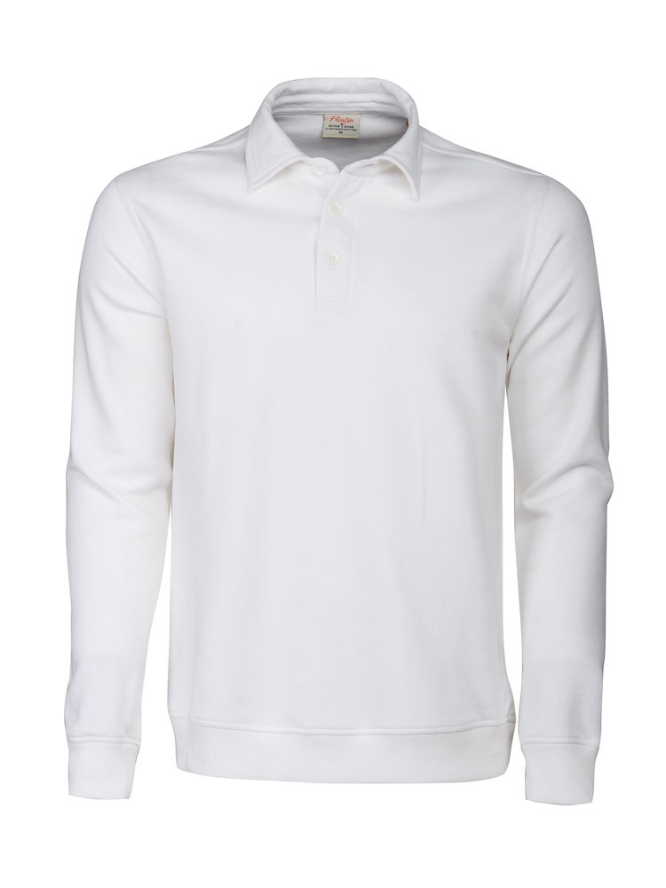 2262040 Poloneck sweater HOMERUN 100 wit