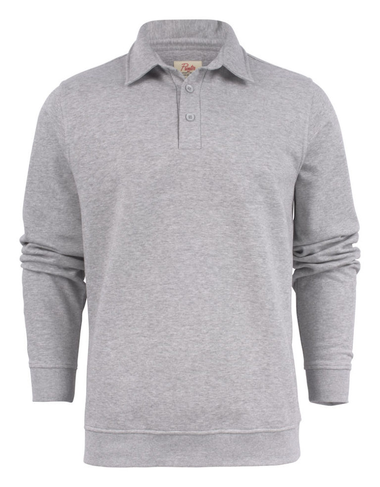 2262040 Poloneck sweater HOMERUN 120 grey melange