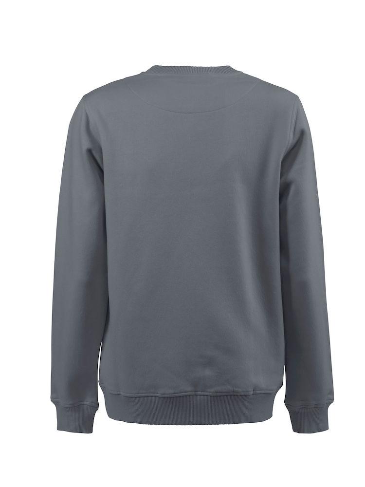 2262048 Crewneck sweater SOFTBALL RSX 935 staalgrijs