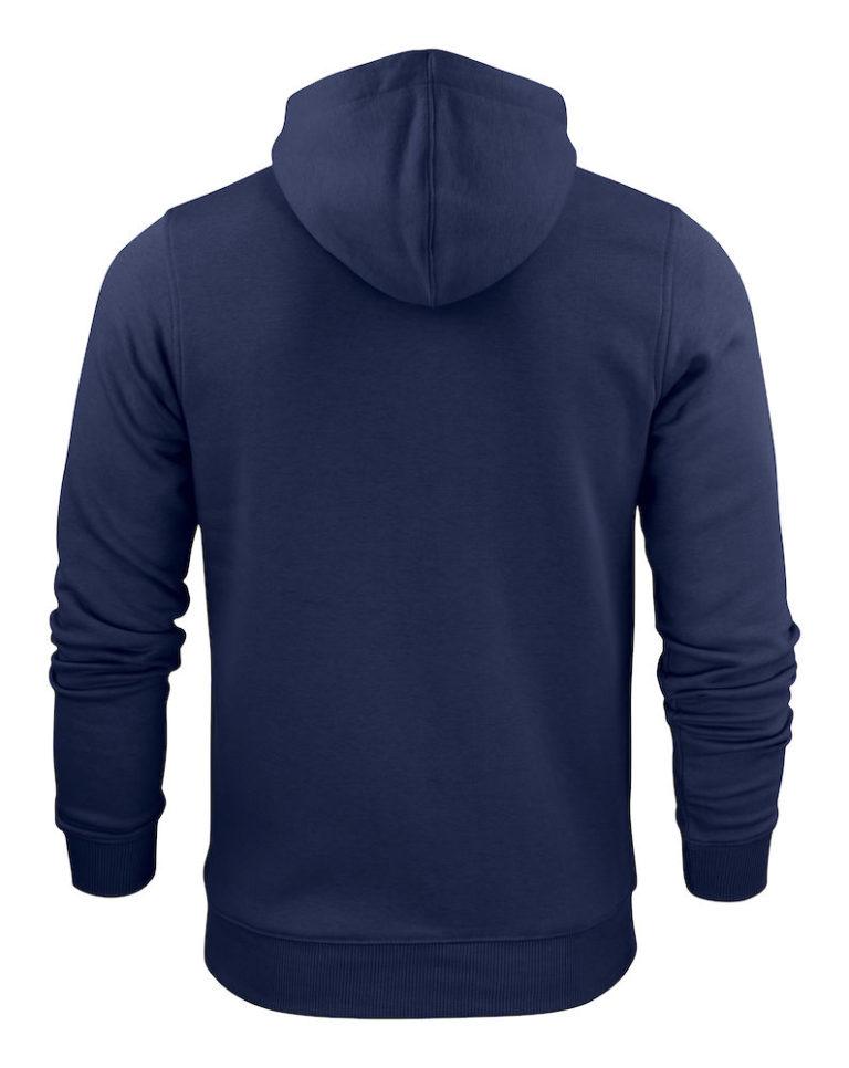 2262051 Hooded sweat jacket OVERHEAD 600 marine