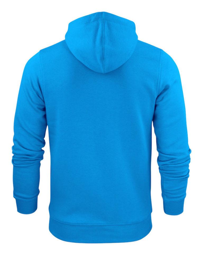 2262051 Hooded sweat jacket OVERHEAD 632 oceaanblauw