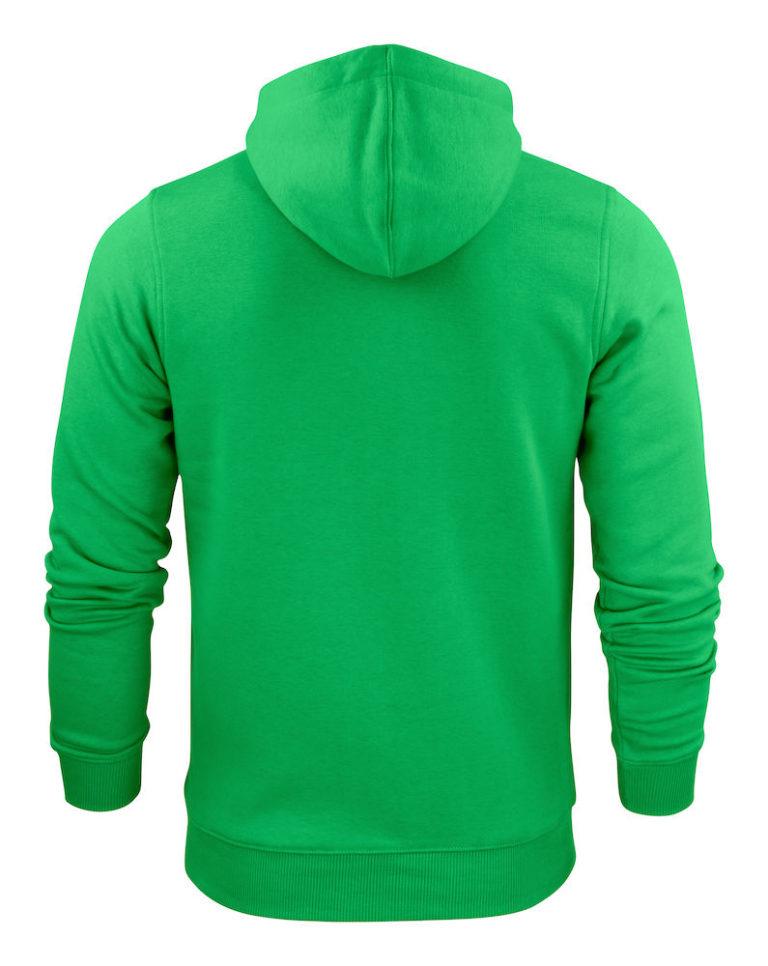 2262051 Hooded sweat jacket OVERHEAD 728 frisgroen