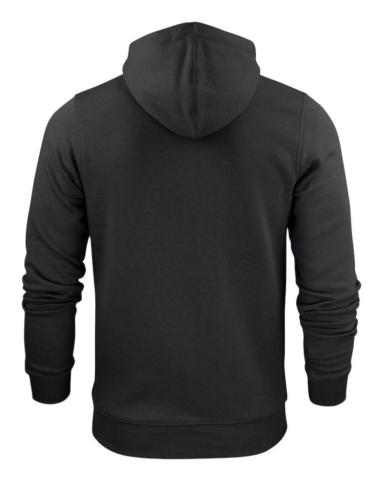 2262051 Hooded sweat jacket OVERHEAD 900 zwart