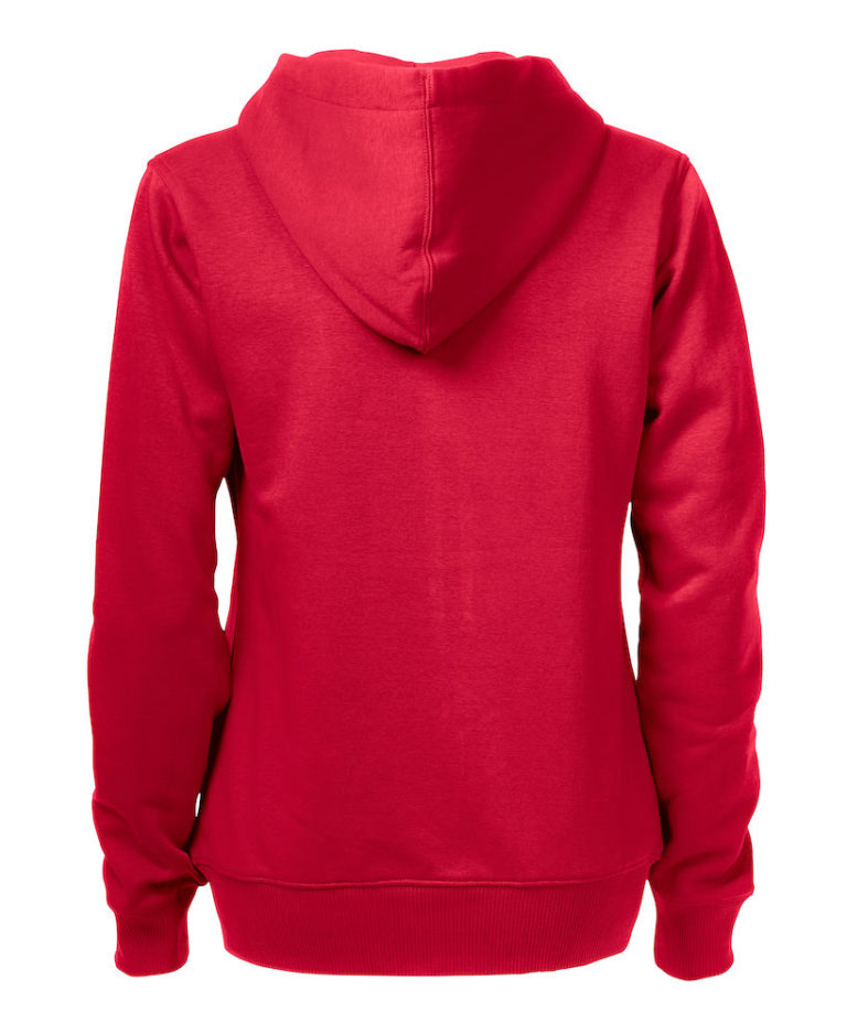 2262052 Hooded sweat jacket OVERHEAD LADY-400 rood