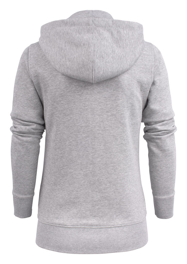 ESD S1P2262052 Hooded sweat jacket OVERHEAD LADY-120 grey melange