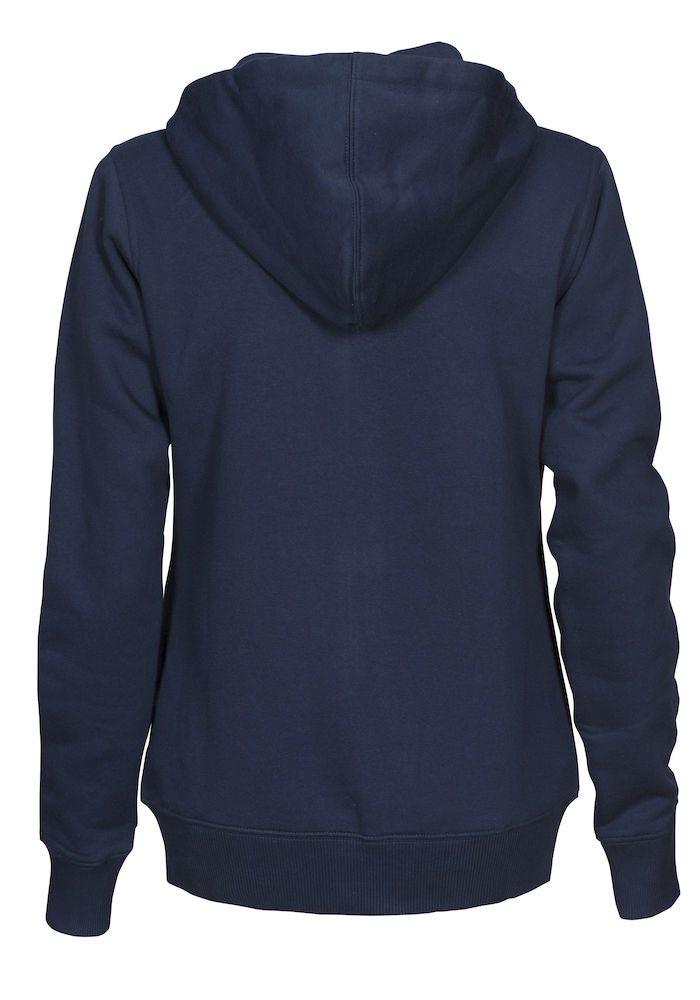 2262052 Hooded sweat jacket OVERHEAD LADY-600 marine