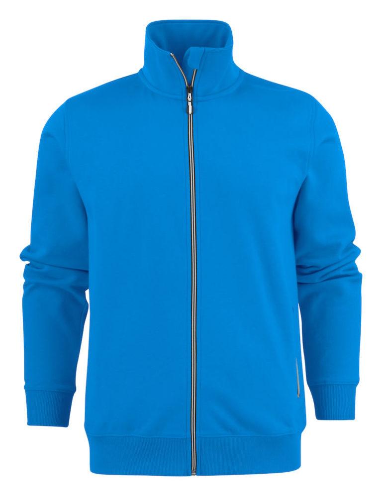 2262054 Sweat Jacket JAVELIN RSX 632 oceaanblauw