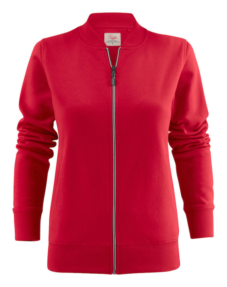 2262055 Sweat Jacket JAVELIN LADY 400 rood