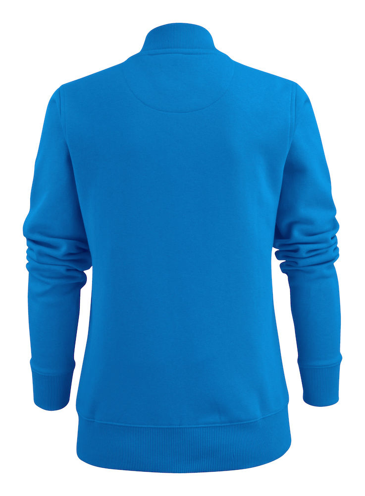 2262055 Sweat Jacket JAVELIN LADY 632 oceaanblauw
