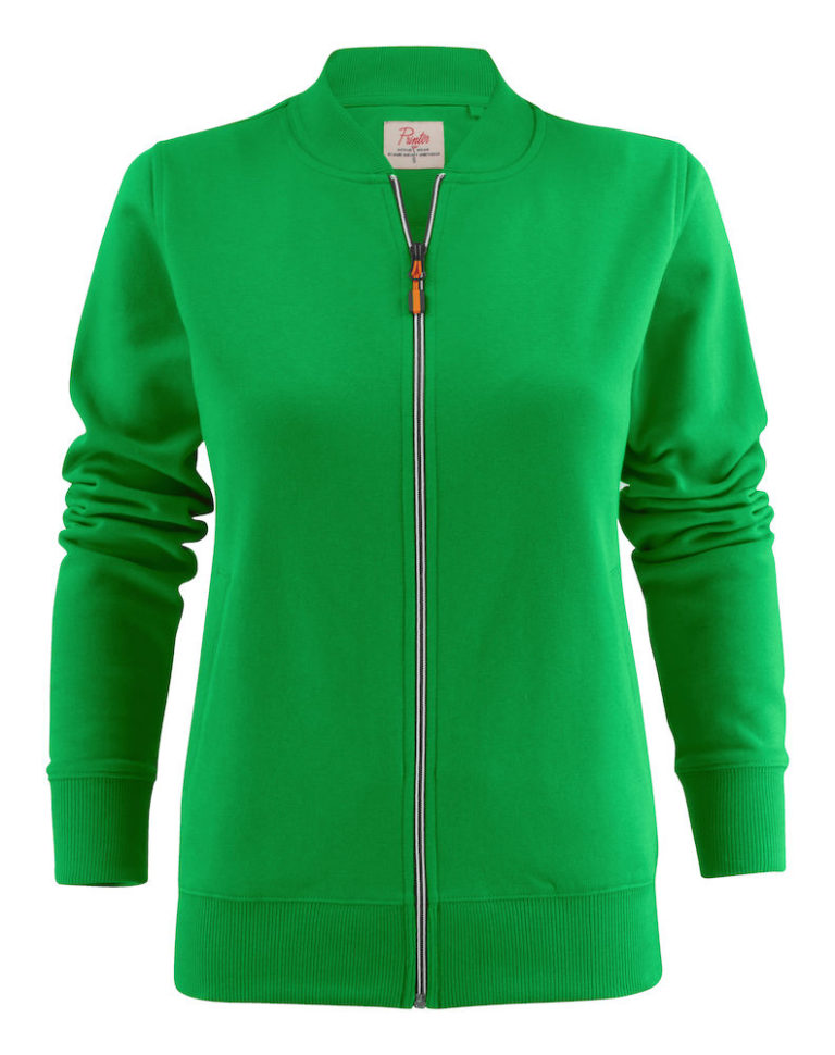 2262055 Sweat Jacket JAVELIN LADY 728 frisgroen
