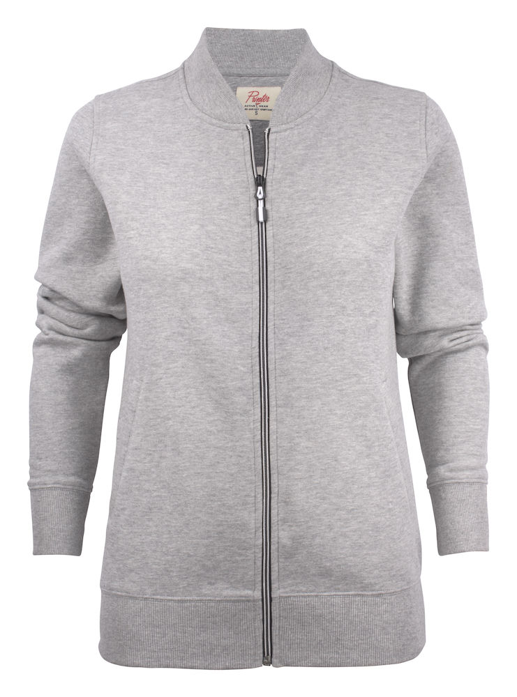 2262055 Sweat Jacket JAVELIN LADY 120 grey melange