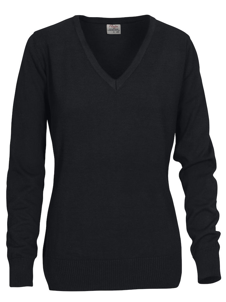 2262502 Sweater FOREHAND LADY 900 zwart