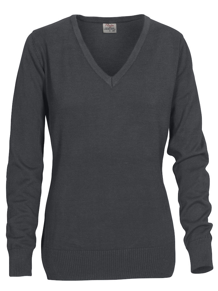 2262502 Sweater FOREHAND LADY 935 staalgrijs