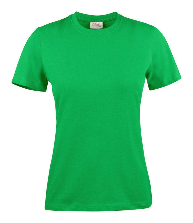 2264014 T-shirt HEAVY T LADY 728 frisgroen