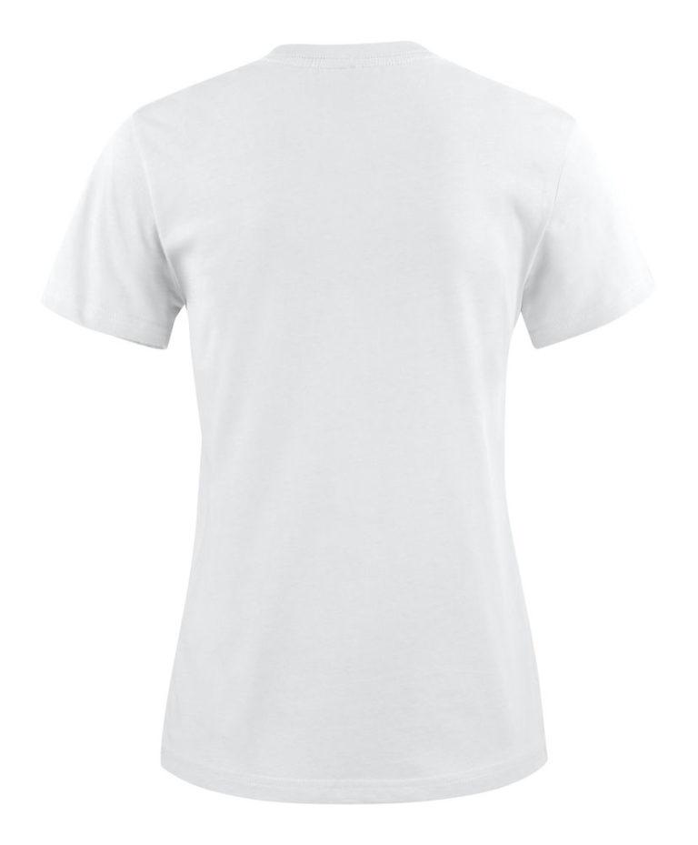 2264014 T-shirt HEAVY T LADY 100 wit