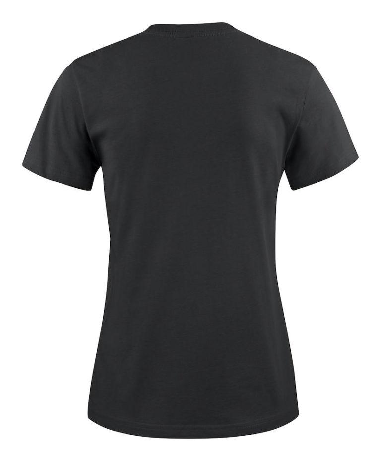 2264014 T-shirt HEAVY T LADY 900 zwart