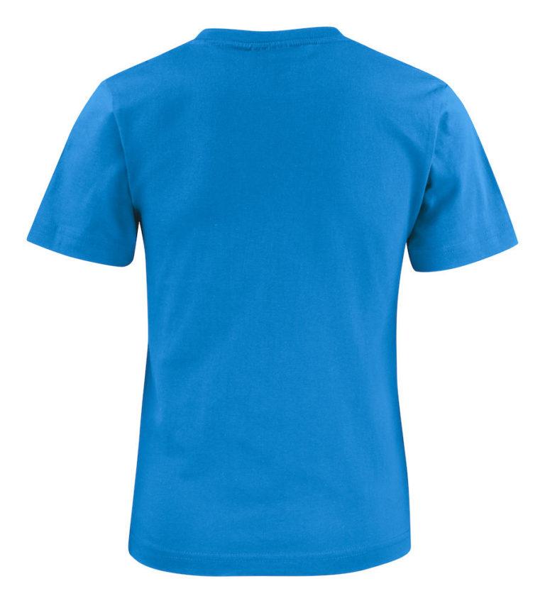2264015 T-shirt HEAVY T JUNIOR 632 oceaanblauw