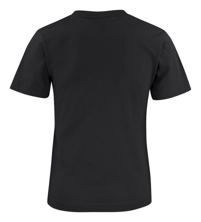 2264015 T-shirt HEAVY T JUNIOR 900 zwart