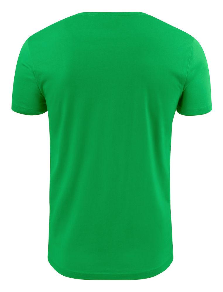 2264024 T-shirt HEAVY V-NECK 728 frisgroen
