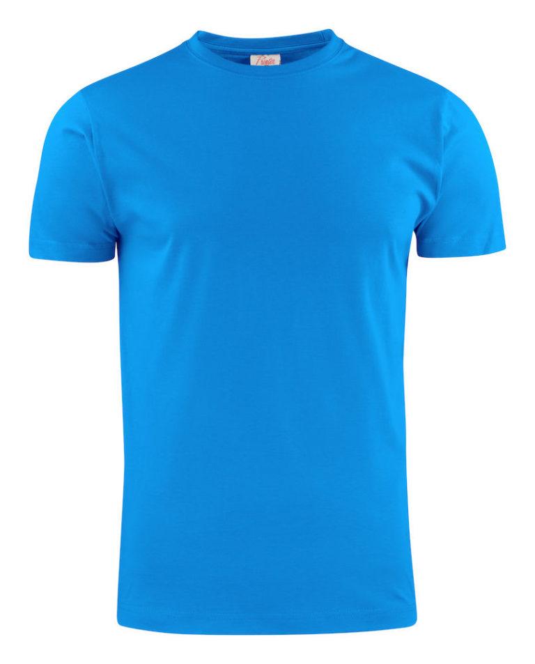 2264027 T-shirt LIGHT 632 oceaanblauw