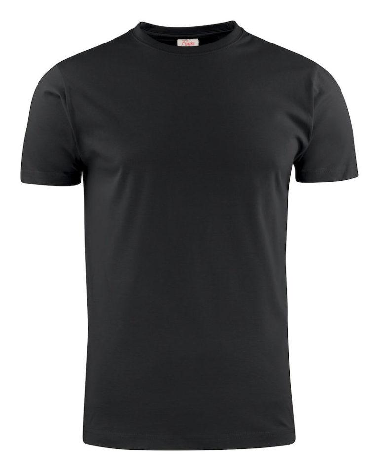 2264027 T-shirt LIGHT 900 zwart