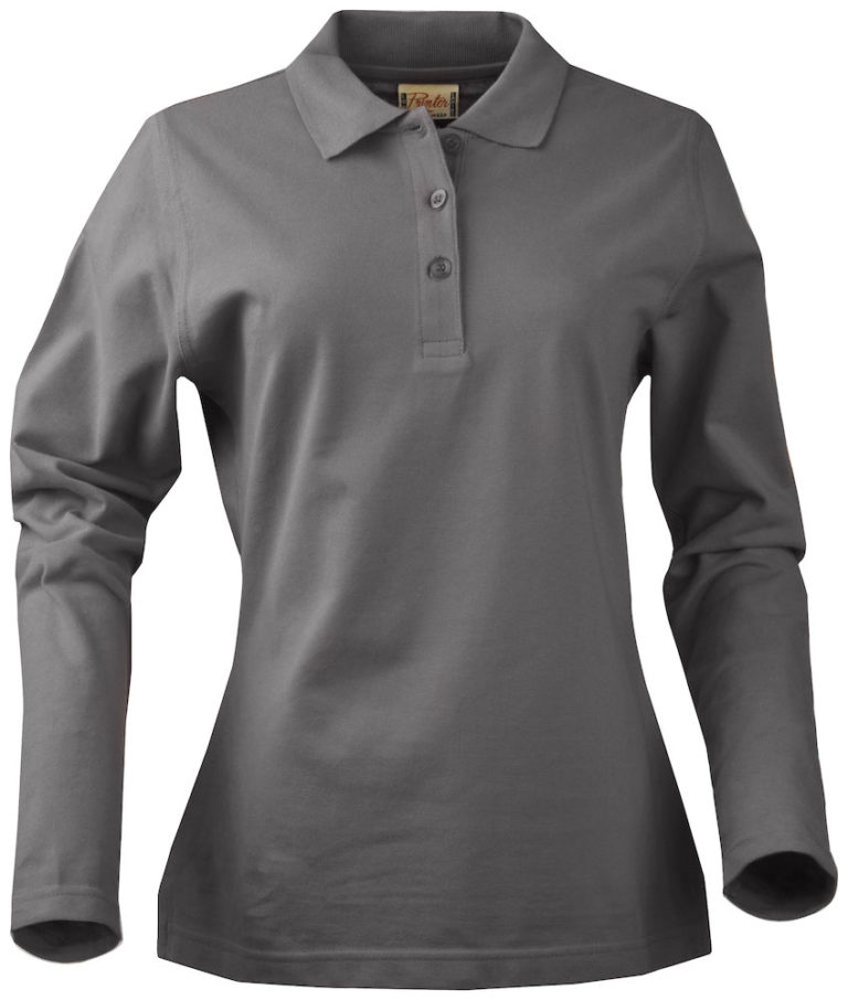 2265012 poloshirt SURF RSX LADY 935 staalgrijs