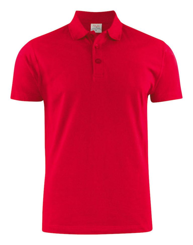 2265016poloshirt RSX PIKE 400 rood