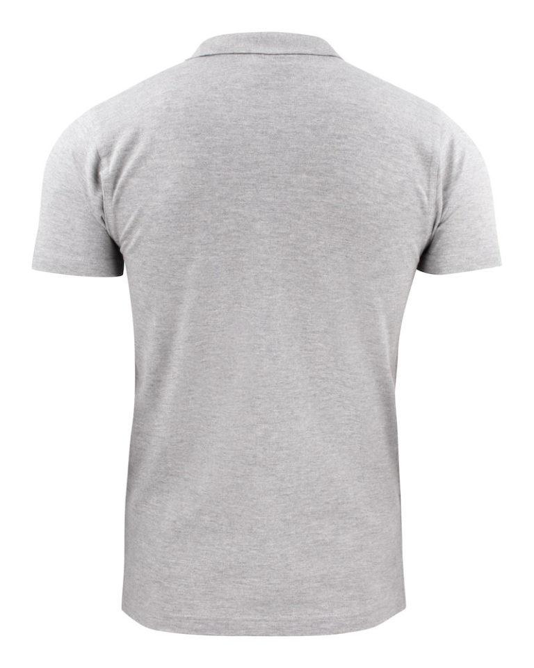 2265016poloshirt RSX PIKE 120 grey ,melange