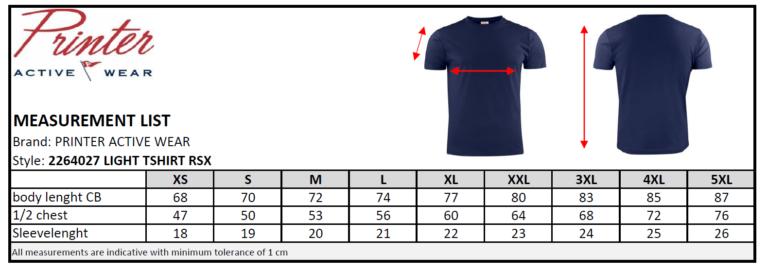 2264027 T-shirt LIGHT