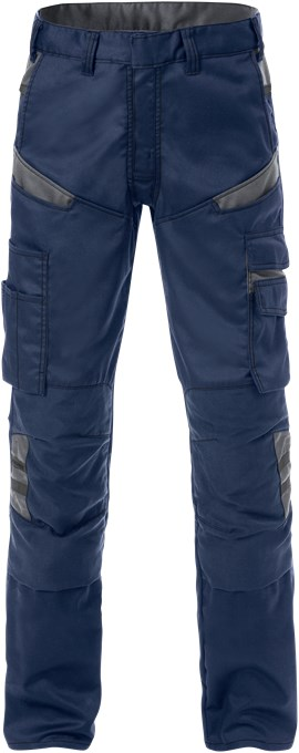 129482 Werkbroek 586 marineblauw/grijs