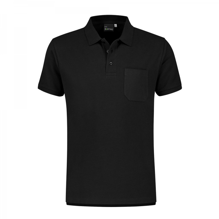 Poloshirt Milan zwart