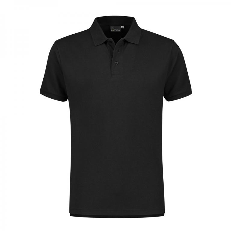 Poloshirt Monza zwart