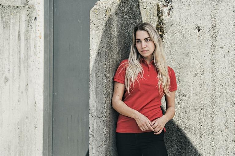 Poloshirt Monza Ladies rood