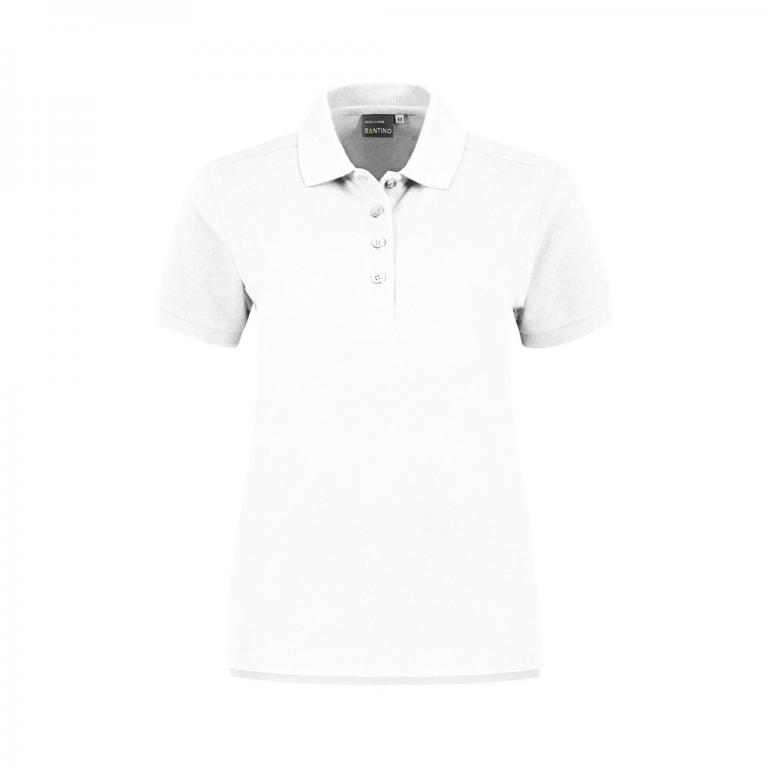 Poloshirt Monza Ladies wit