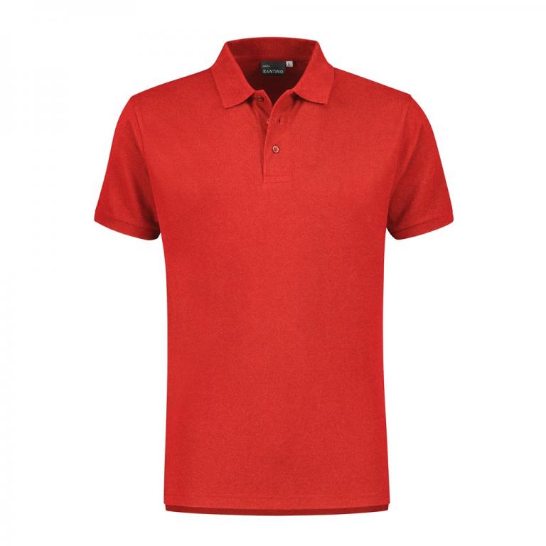 Poloshirt Monza Rood
